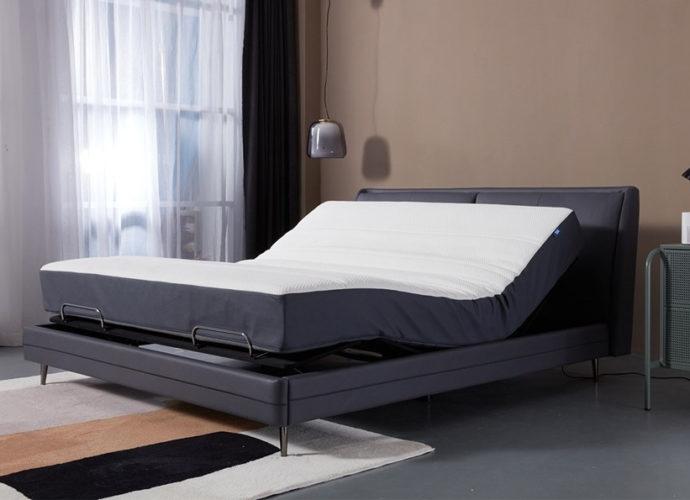 Умная кровать от Ксяоми создает несколько режимов: чтение, просмотр фильмов, сон, антихрап и релаксация в невесомости